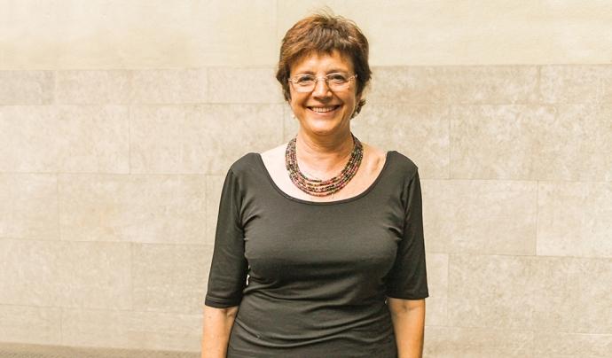La presidenta de la Taula del Tercer Sector, Francina Alsina. Font: Taula del Tercer Sector Social