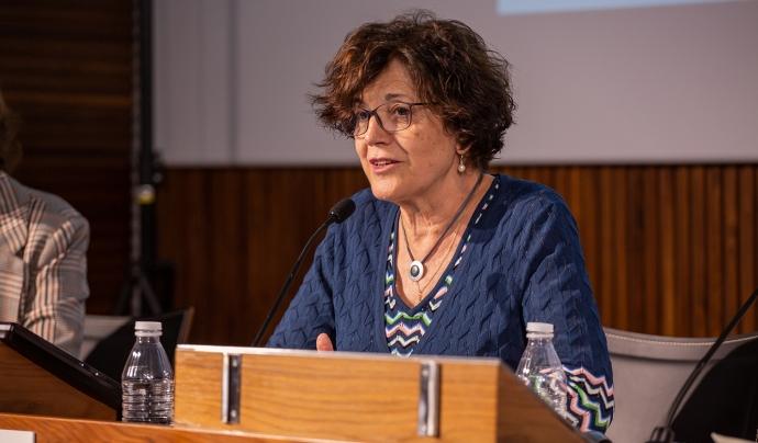 La presidenta de la Taula del Tercer Sector, Francina Alsina Font: Taula d'Entitats del Tercer Sector