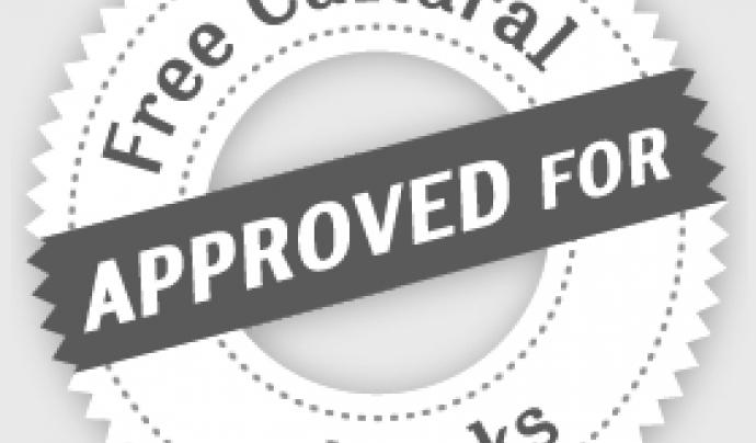 Les dues llicències menys restrictives de Creative Commons que obliguen només a reconèixer l'autoria o fer-ho compartin de la mateixa manera són llicències de cultura lliure Font: Creative Commons