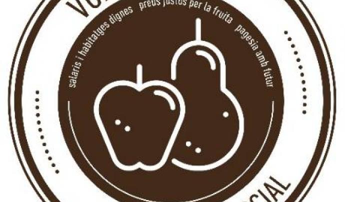 Logotip de la campanya Fruita amb Justícia Social.