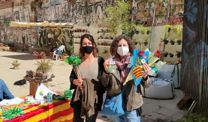 En motiu de la diada de Sant Jordi, aquest any la Fundació Comtal ha recaptat un total de 10.000 € a través de la campanya #UnaRosaUnaOportunitat. Font: Fundació Comtal. Font: Font: Fundació Comtal.