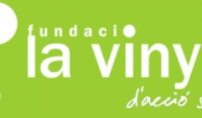 Logotip de la Fundació La Vinya Font: Fundació La Vinya