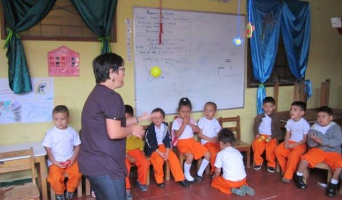 La Fundació Cristal treballa amb infants a Nicaragua.