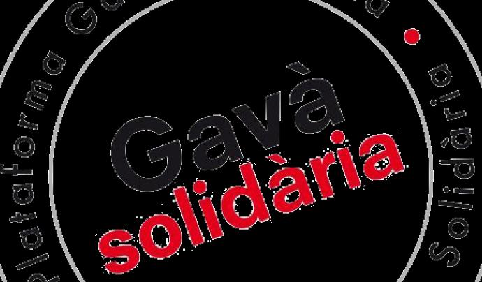 Logotip de la Plataforma Gavà Solidària