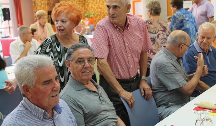 La participació de la gent gran és un dels pilars de l'envelliment actiu Font: Ajuntament de Les Franqueses