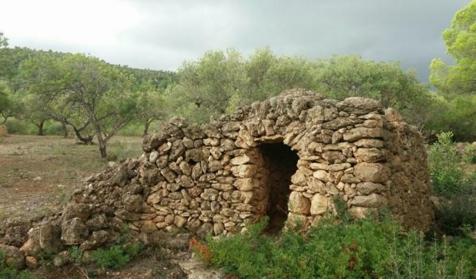 Hi ha altres elements, com ara els marges de pedra seca, que també formen part del patrimoni. Font: GEPEC