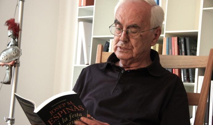 L'escriptor Josep maria Espinàs, autor de 'L'ecologisme és egoisme'