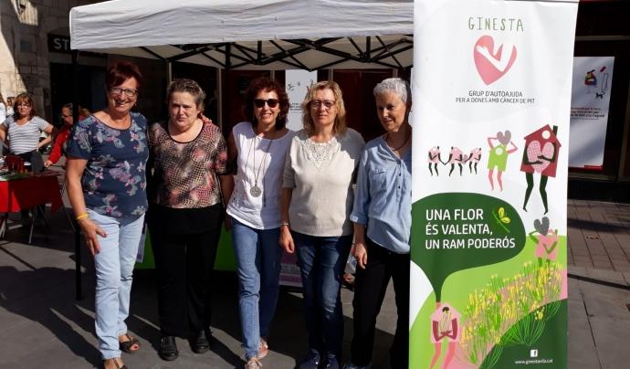 Ginesta és un grup d'autoajuda per a dones amb càncer de pit. Font: Ginesta