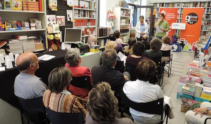 Acte de lliurament de premis a Girona