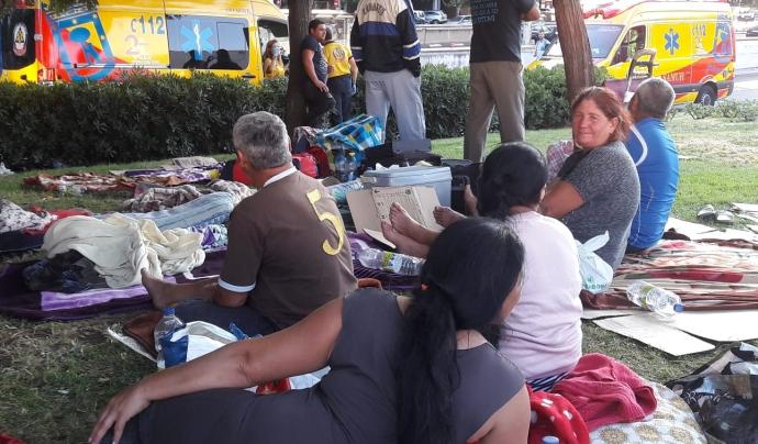 Famílies rom protestan contra abús laboral a Extremadura