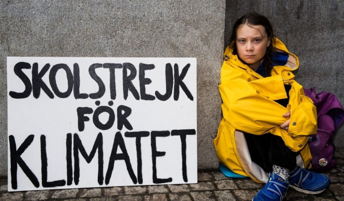 L'activista contra el canvi climàtic, Greta Thunberg, estrena llibre Font: Laverdadnoticias.com