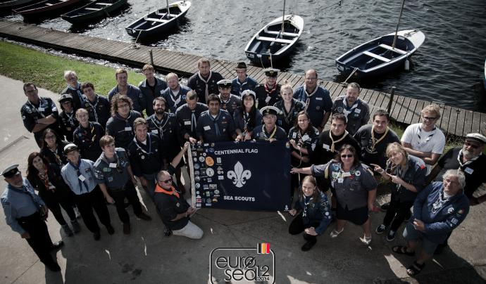 Participants a l'Eurosea 12 a Bruixes (Bèlgica)