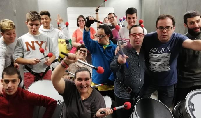 Abans del confinament eren un total de 9 grups a diferents barris de Barcelona Font: Reperkutim