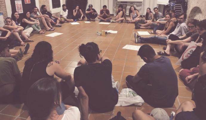 Es reuneix el grup d'activistes locals de SCI Font: SCI