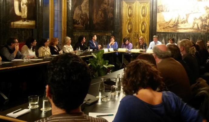 La comissió mixta pel debat sobre el nou model de zoo (imatge: Ajuntament de Barcelona)