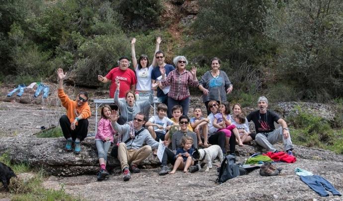 El veïns i veïnes de Les Arenes de Castellar del Vallès van formar un grup de voluntariat pel Projecte Rius al Riu Ripoll (imatge: Associació Hàbitats)