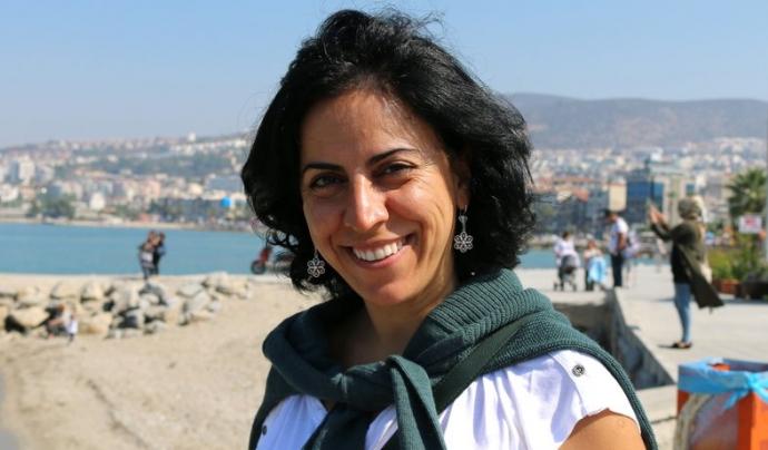 Hatice Kamer, periodista kurda empresonada per les autoritats turques