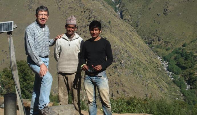 Health Us Nepal ofereix atenció mèdica a la població de Simikop. Font: Health Us Nepal
