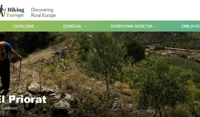 El senderisme pel Priorat com a iniciativa de turisme sostenible (imatge: hiking europe )