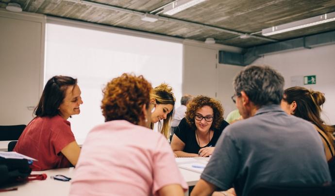 L'EVV ofereix l'oportunitat de participar en un espai formatiu i fomenta l'intercanvi d'experiències entre les persones Font: Generalitat de Catalunya