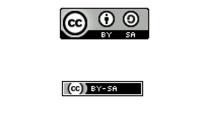 A dalt la icona normal i a baix la compacta Font: Creative Commons