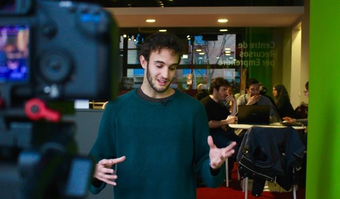 Ignasi Eiriz és el jove creador de la primera 'app' de moda sostenible.  Font: Ethical Time