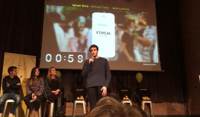 L'aplicació mòbil estarà disponible a principis de l'any vinent.  Font: Ethical Time