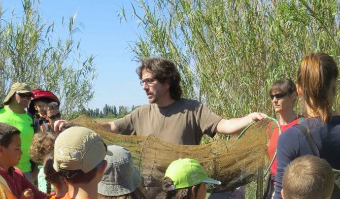 Quim Pou, biòleg, naturalista i educador ambiental, és membre de l'Associació la Sorellona. Font: Associació La Sorellona