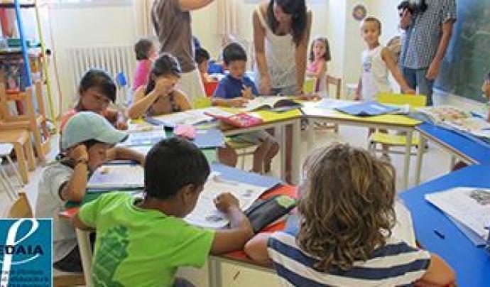 La Fedaia treballa amb joves en risc d'exclusió social.  Font: FEDAIA