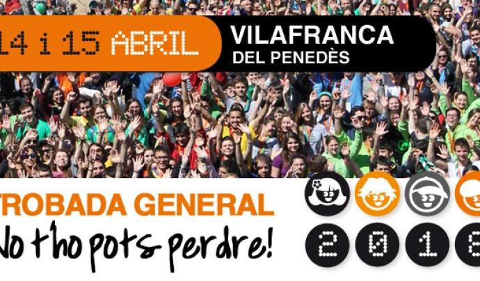 Trobada general 2018 Font: Fundació Pere Tarrés