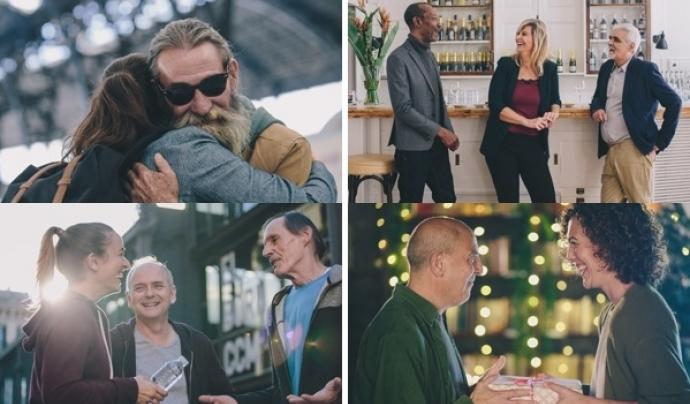 Algunes de les fotografies de Homeless Commons. Font: Arrels Fundació