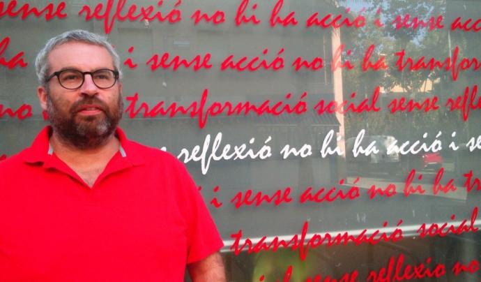 Oscar Rando, codirector del Festival Esperanzah! (autora: Marta Rius)