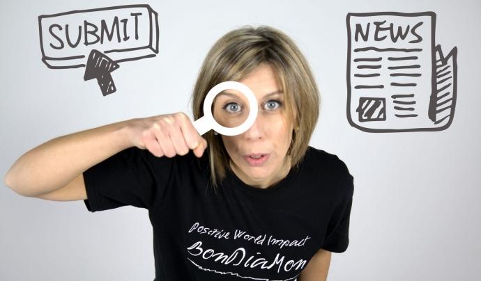 La biòloga Noemí Fuster ha trobat en Youtube un potent canal per difondre iniciatives socials. Font: BonDiaMon