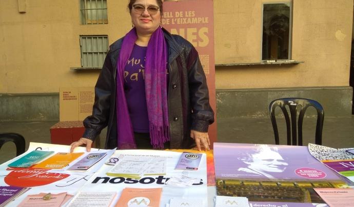 Paradeta de Mujeres Pa'lante al Consell de les Dones de l'Eixample Font: Mujeres Pa'lante