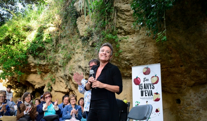 Jordina Biosca, directora Festival En Veu Alta Font: Associació Artística Triskel