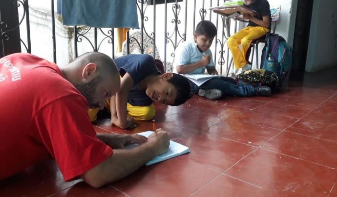 ONG Voluntariado es dedica a la gestió i coordinació de voluntariats internacionals. Font: Gerard Tarrés