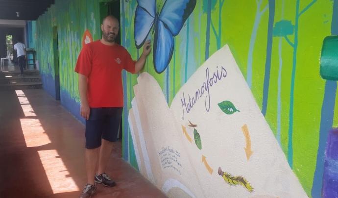 Tarrés ha fet voluntariat a Nicaragua i Guatemala. Font: Gerard Tarrés
