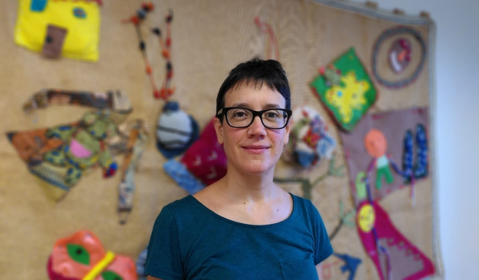 Ana Villellas, investigadora de l'Escola de Cultura de Pau de la UAB. Font: Escola de Cultura de Pau