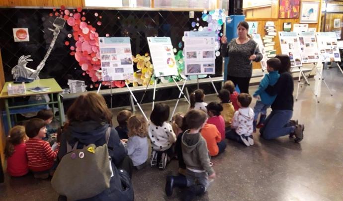 Una exposició sobre l'aigua en una escola de Terrassa Font: OAT