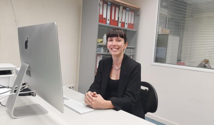 Laura Lorenzi és la presidenta de la Taula Catalana per la Pau i els Drets Humans a Colòmbia.  Font: Laura Lorenzi