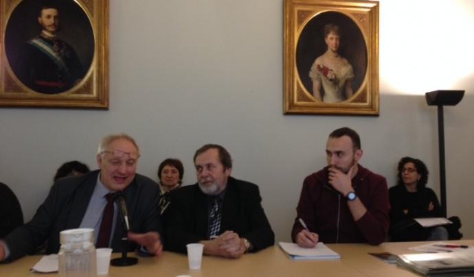 Representants delegació d'Ostrava. Palau Moja (foto: Marta Rius)