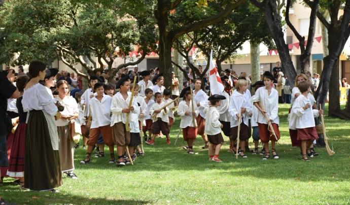 Els infants del poble participen activament de la Festa.