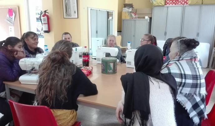 A.A.S.S. treballa amb diferents col·lectius de la zona Est de Girona: dones, joves, gent gran, etc. Font: A.A.S.S.