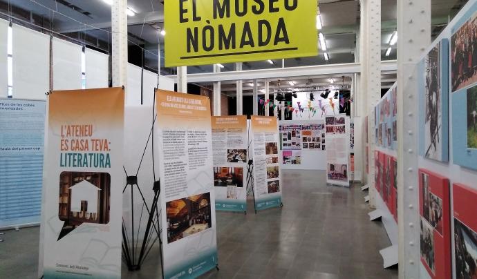 Museu Nòmada, mostra d'exposicions al Som Cultura Popular 2018.