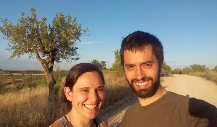 Anna M. Capdevila i Quim Pérez, socis de la cooperativa Tres Cadires Font: Tres Cadires SCCL