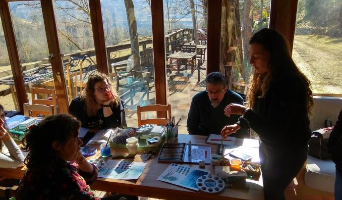 taller Gemma Capdevila Sant Joan de les Abadesses_Natura_Animal Latitude Font: Associació Animal Latitude