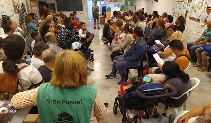 Des del 2009 la PAH lluita pel dret a l'habitatge. Font: PAH