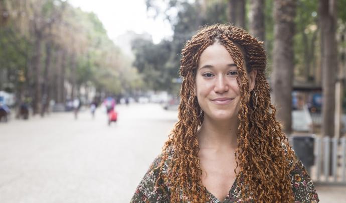 Laia Maldonado, fundadora d''Un llapis per Ghana' Font: Carla Fajardo