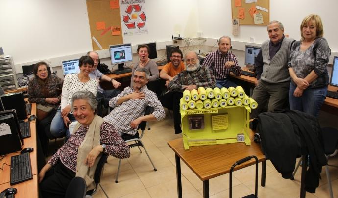 Participants del projecte Mediateca de Ravalnet Font: Ravalnet