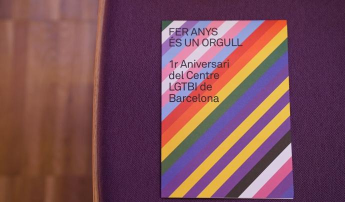 L'equipament celebra el seu primer aniversari el proper 18 de gener amb una jornada d'activitats per a tots els públics, en el marc de la Festa Major de Sant Antoni. Font: Centre LGTBI